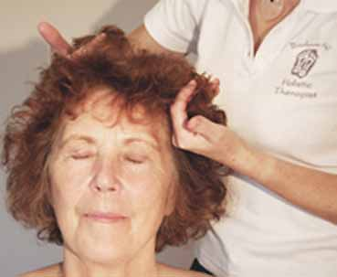 Indian Head Massage. 2014 IHM curved hands
